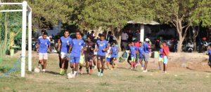 Preparasaun Ekipa DIT FC jogu hasoru Santa Cruz FC