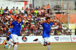 Selebrasaun Golu ekipa AD SLB Laulara iha jogu hasoru Boavista FC Timor