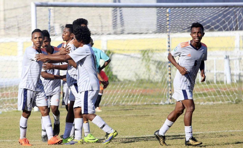 Selebrasaun Golu Nagardjo FC iha jogu kontinuasan Kopa FFTL 2020 hasoru AS Marca